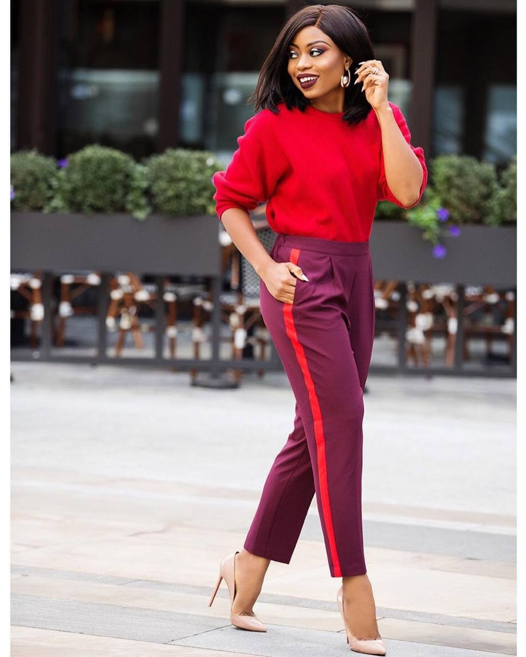 how to wear red stella uzo jadore fashion