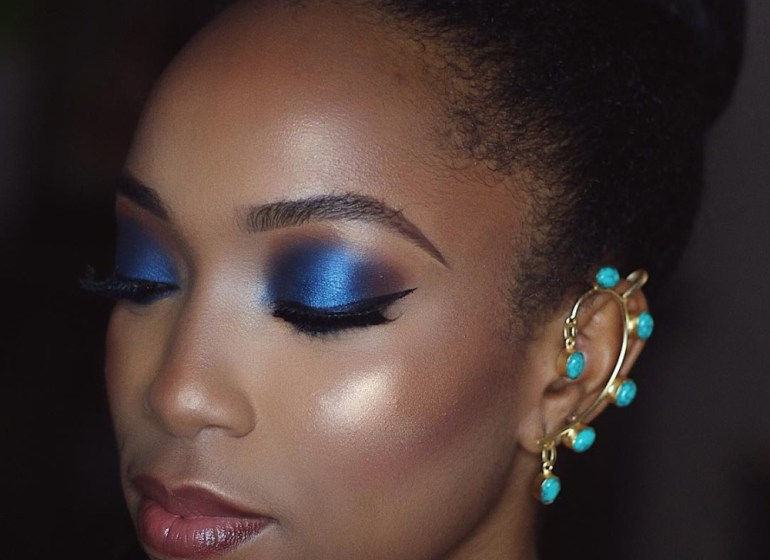 Get the Look: Princess Jasmine's Sultry Midnight Blue Eyes