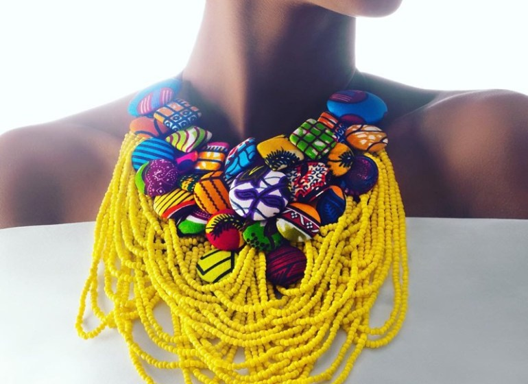 These Christie Brown Ankara Necklaces Make The Ideal Statement Piece