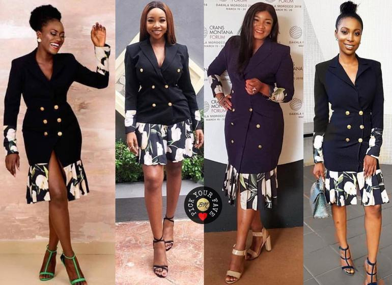 These 4 Screen Divas have One 2207 by TBally Dress in Common