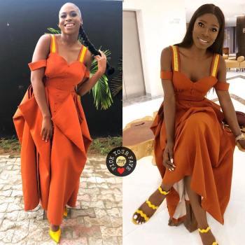OG Okonkwo & Zina Anumudu are Twinning in This Style Temple Dress