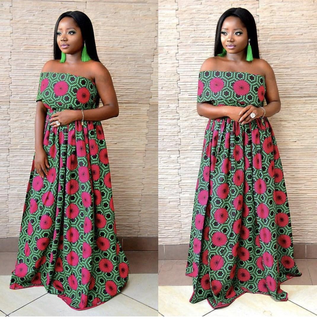 85421ac69a7 Latest Ankara Style For Ladies Gown | Saddha