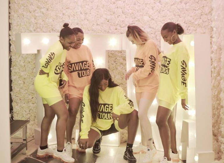 Tiwa Savage tour popup sale