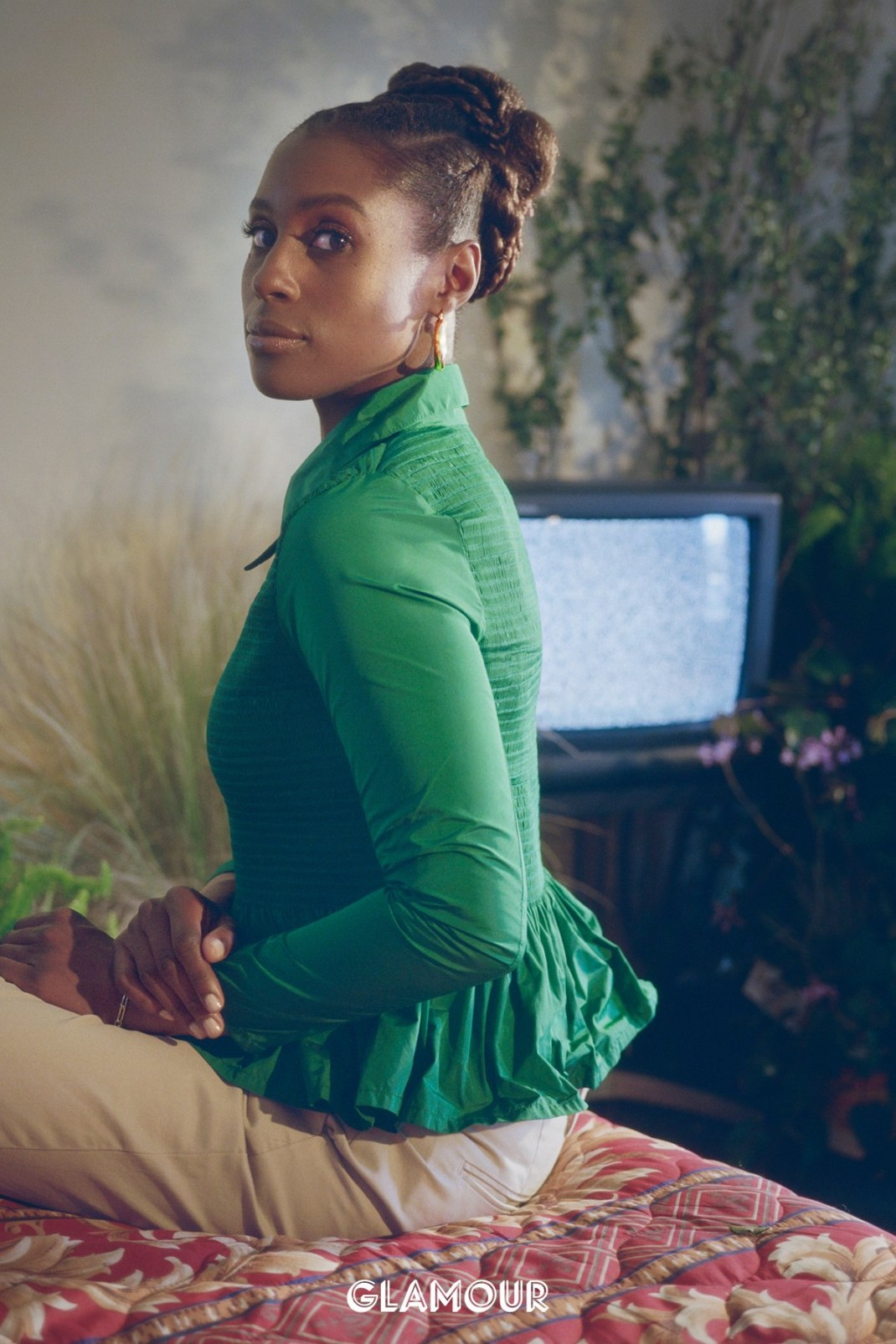 Issa Rae Is Faultless On The Cover Of Glamour Magazine October Issue