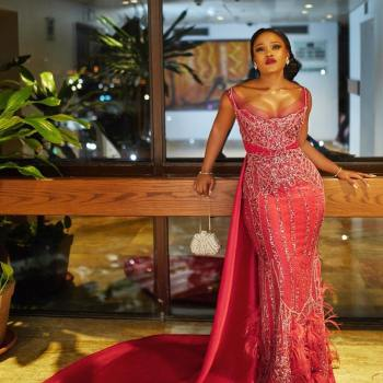 Hands Down CeeC Won Red Carpet Style At #AMVCA2018