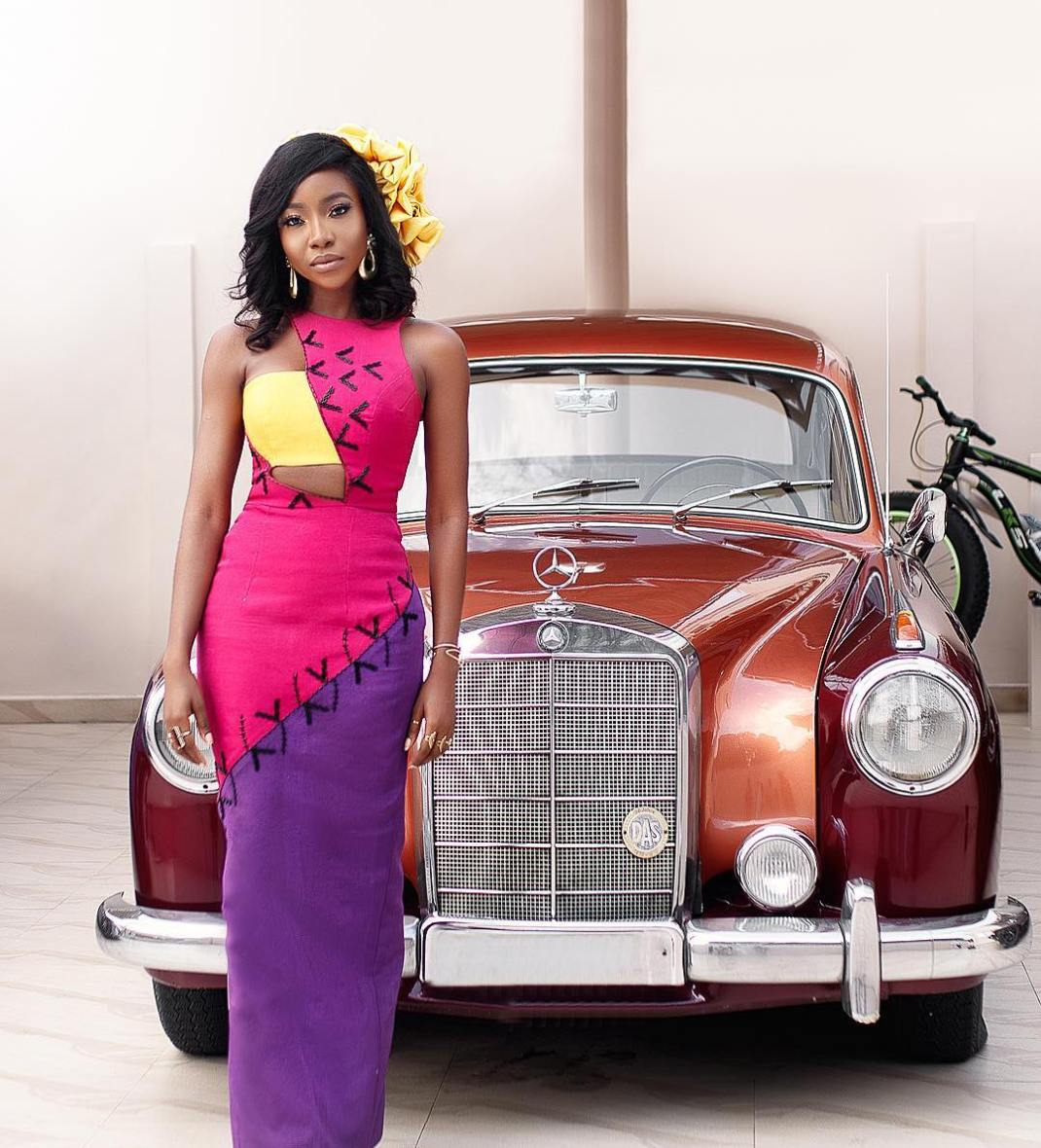 Nigerian actress, Ini Dima Okojie wore this to the Film Gala