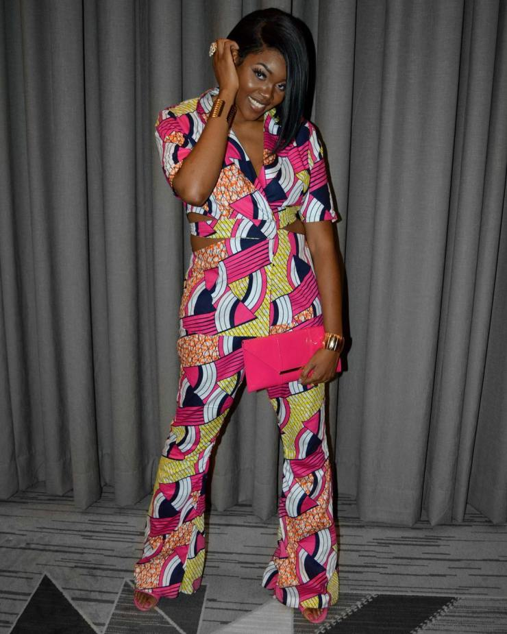 too much sauce! look perfect to any place in these amazing ankara styles TOO MUCH SAUCE! LOOK PERFECT TO ANY PLACE IN THESE AMAZING ANKARA STYLES  nikkibilliejean wearing  shopnikkibilliejean