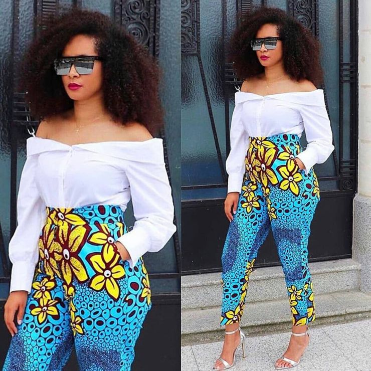 too much sauce! look perfect to any place in these amazing ankara styles TOO MUCH SAUCE! LOOK PERFECT TO ANY PLACE IN THESE AMAZING ANKARA STYLES 1