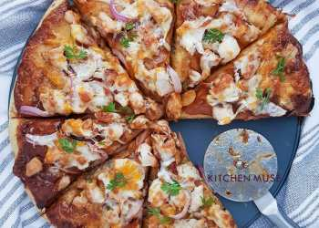 Overlook Consuming Out: This Do-it-yourself BBQ Pizza Recipe by the Kitchen Muse is BEYOND! | BN Type