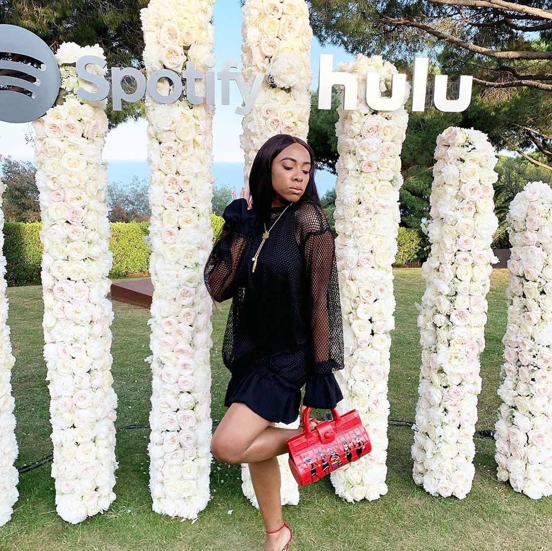 #Noticed: Fade Ogunro Simply Had a Main All Black Trend Second On the 'Gram   BN Model