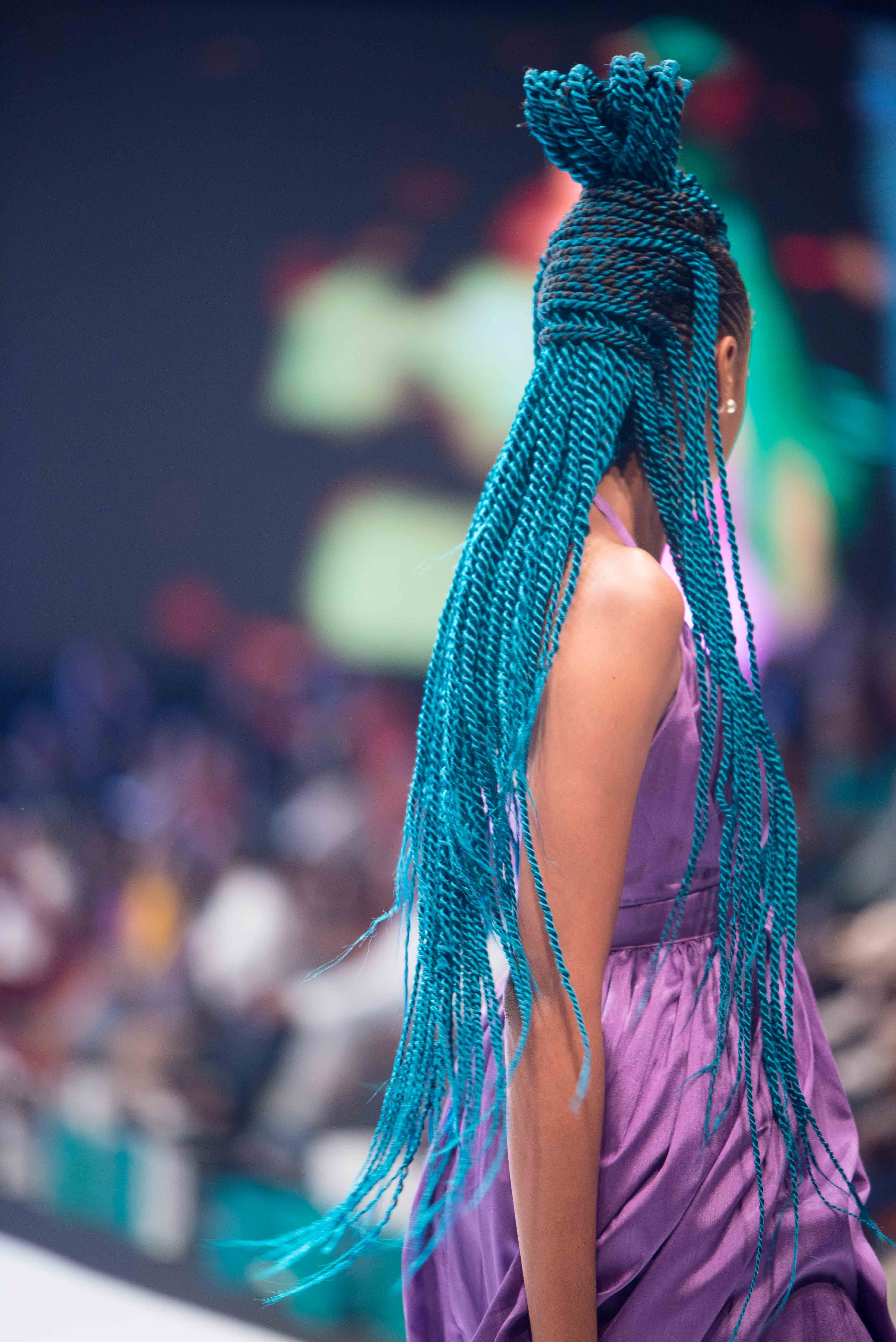 The Best Hair Looks from Lagos Fashion Week 2019 by Darling   BN Style