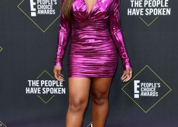 Jackie Aina & Bonang Matheba Looked Absolutely Stunning In Pink At The 2019 E! Peoples Choice Awards | BN Style