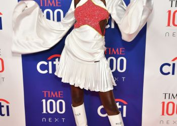 Adut Akech Turned Heads At The 2019 #TIME100 Event In This Pyer Moss Ensemble | BN Style
