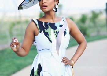 Ayanda Thabethe Wore the Most Perfect Cinnel Store Look At #SBPolointhePark | BN Style