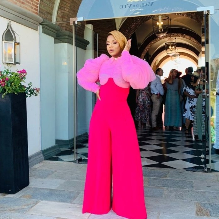 We Can't Get Enough of Jessica Nkosi's Statement Look to Pink Polo SA 2019
