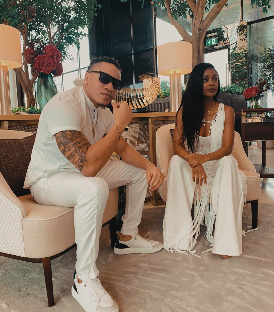 Fall Further in Love With Dubai Via Rotimi And Vanessa Mdee's Super Romantic Vacation   BN Style