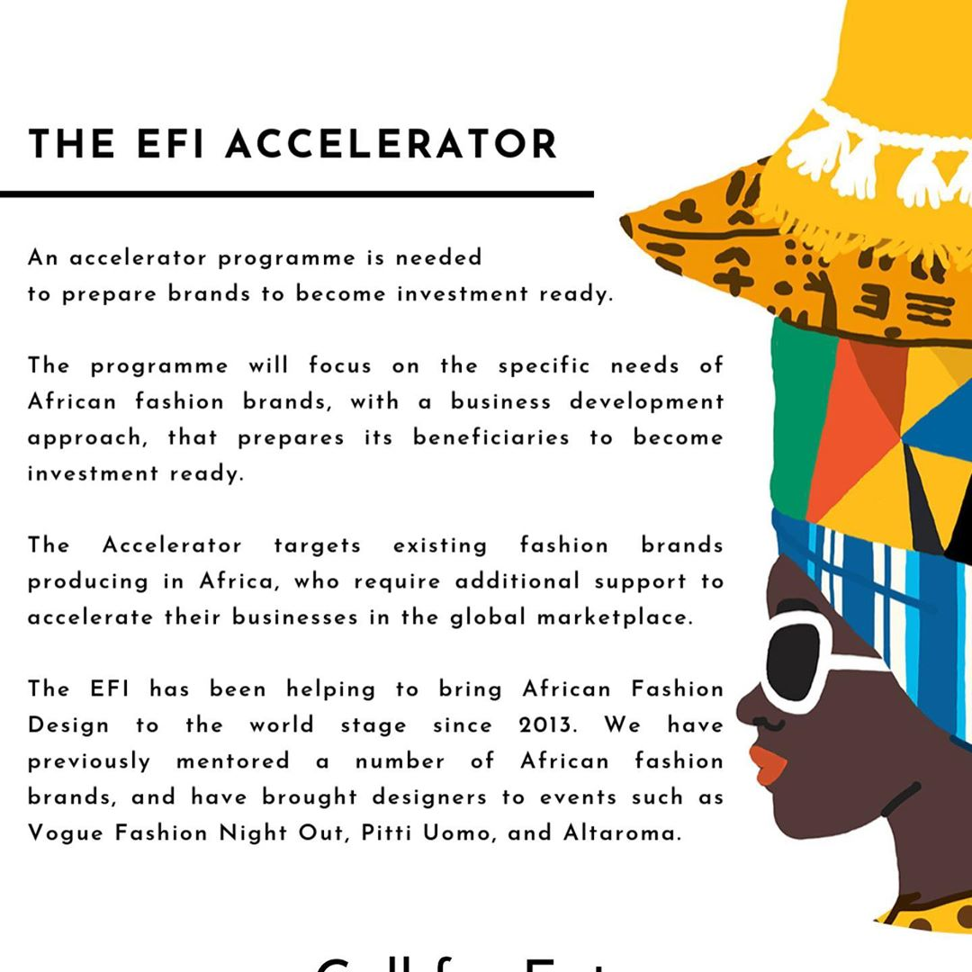 Six African Brands Made it Into The Ethical Fashion Initiative's Accelerator!