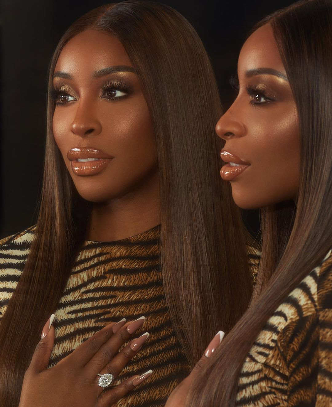 Jackie Aina Proves Press On Nails Are The Best Option For Social Distancing | BN Style