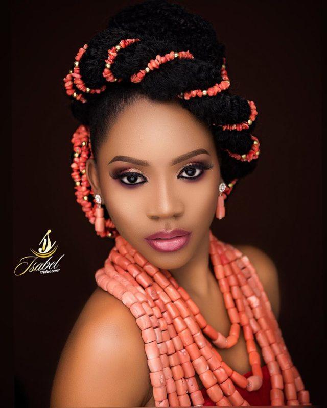 this is one unconventional igbo bridal look   bellanaija