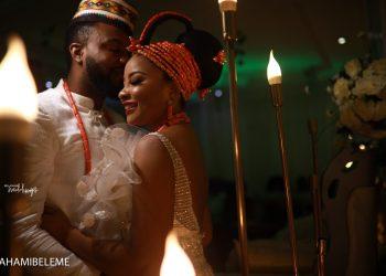 Loving Linda Ejiofor & Ibrahim Suleiman's Cute 1 Year Trad Anniversary Messages