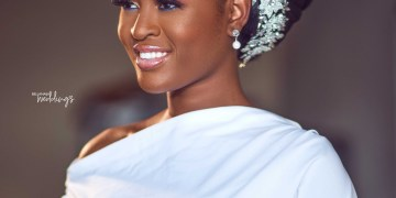 This Nude Bridal Look by Nsoleke Beauty is a Win for Your Big Day!
