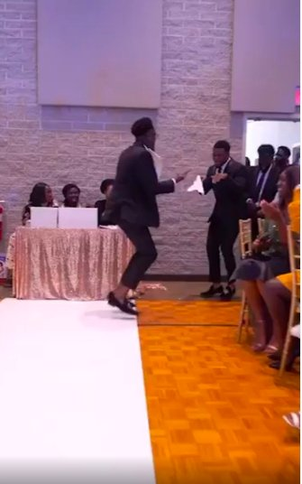 These Ghanaian Groomsmen were so Hyped for their Reception Entrance!