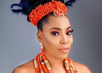You should Pin this Feather-Hairstyle for Your Igbo Bridal Look
