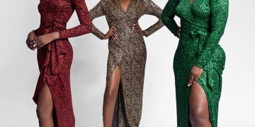 Be a Stunning Wedding Guest in these Wrap Dresses by Matopeda