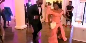 This Groomsman & Bridesmaid Brought all the Energy to the Dance Floor
