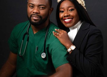 It's a Doctor-Lawyer Kinda Love Story At present! See Buchi & Tolu's Pre-wedding