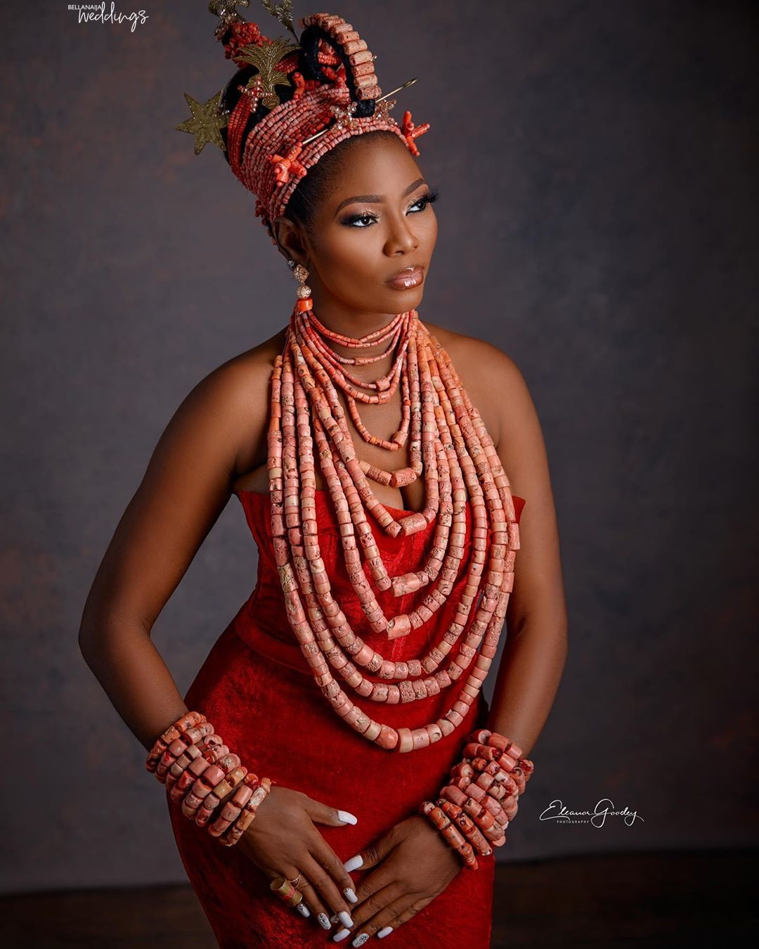 This Edo Beauty Look is All the SAUCE you Need on your Big Day