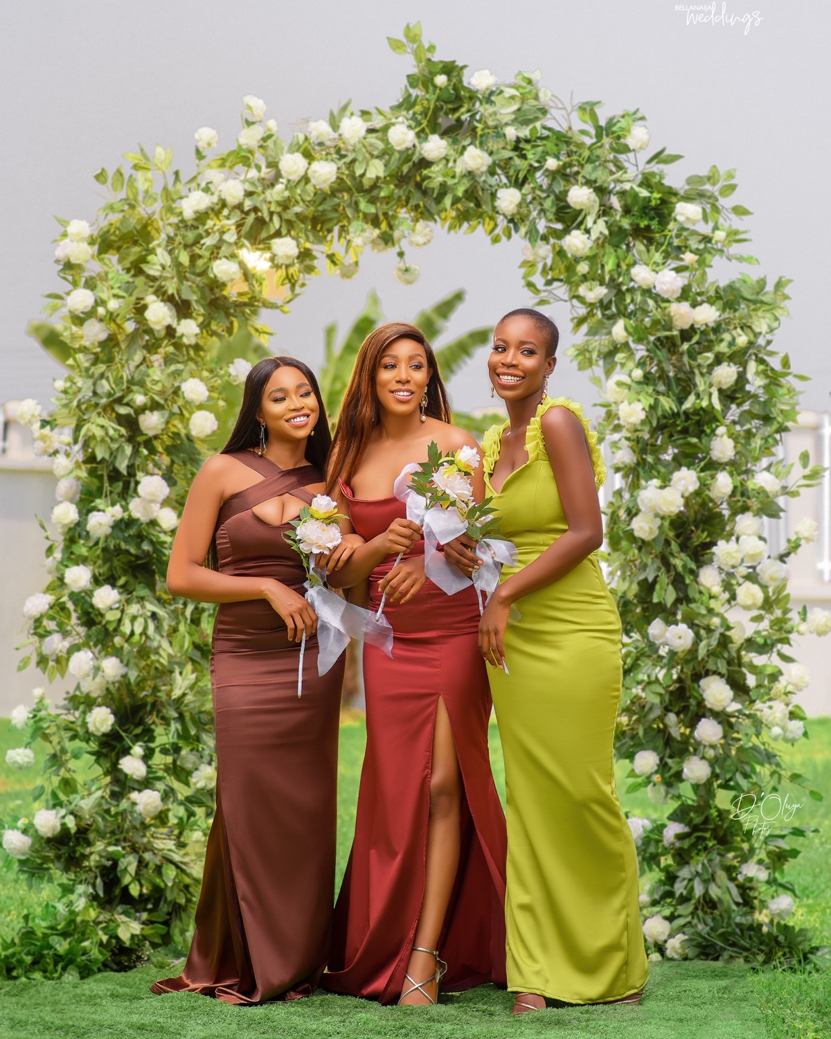 Your #BellaNaijaBridesmaids will Look Peng in this Collection by Bridesmaids Inc
