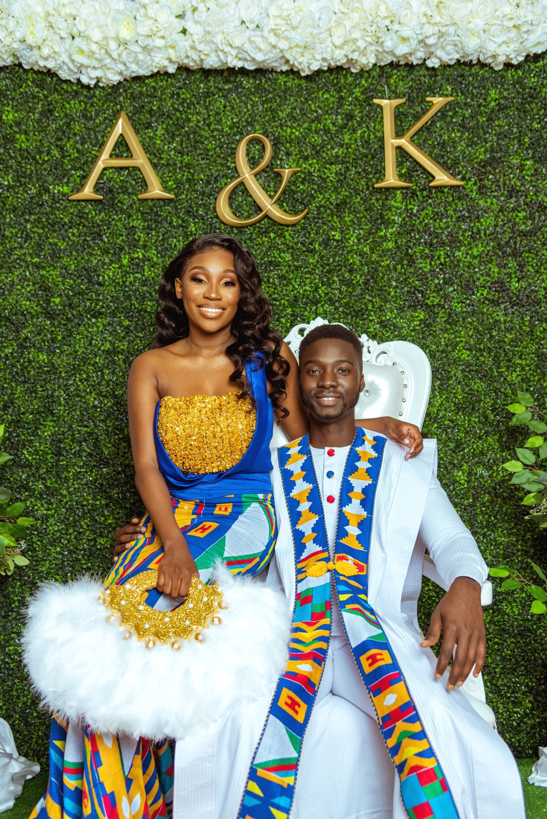 From a Church Summer Picnic to Forever Love! Akua and Kwadwo's Ghanaian Traditional Wedding | BellaNaija Weddings