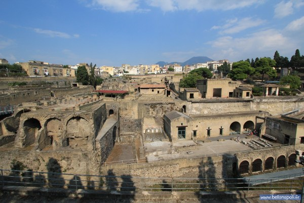 Le Site Archologique 'herculanum Bella Napoli - Couverte De Naples Son Histoire Sa Culture