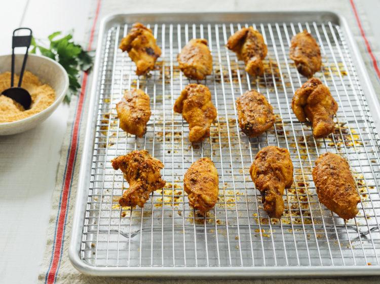 crispy oven baked buffalo wings