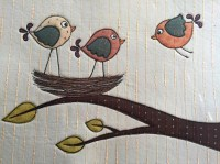 Wing It Bird Placemat Pattern  Bella Nonna Design Studio