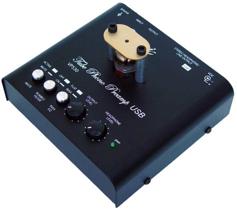 VP530 - Tube Phono Preamp USB - Bellari Audio