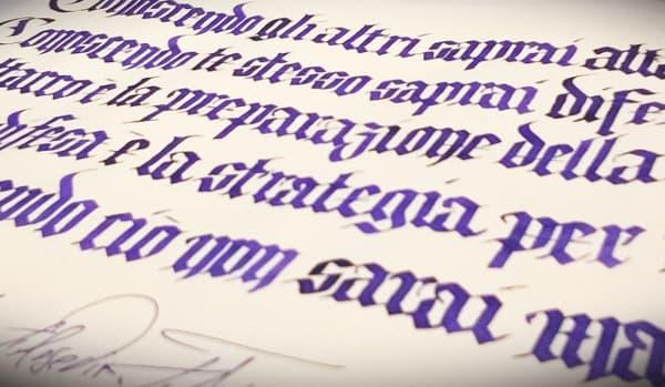 Molto Bella Scrittura | Calligrafia e Bella Scrittura. Calligrafia  PE28