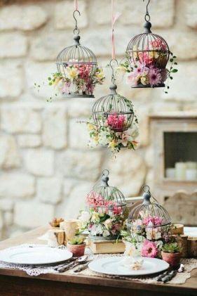 un'idea per la tavola degli sposi