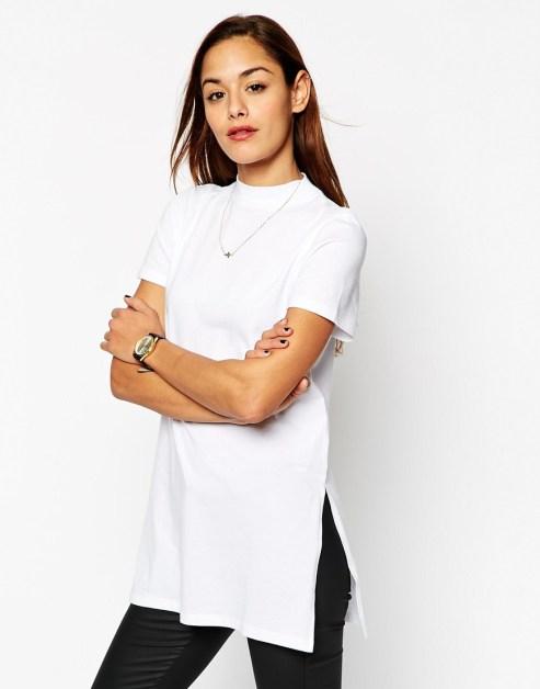 T-shirt bianca asos
