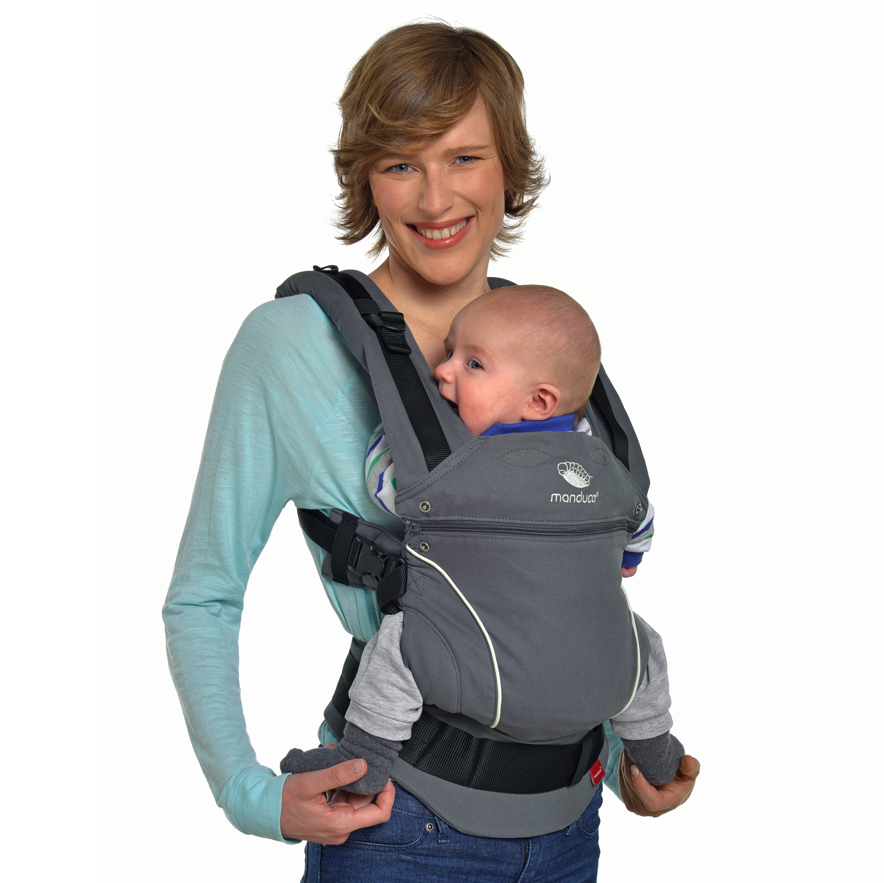 baby chair carrier straight back for elderly manduca quotpure cotton quot 100 organic dark grey bellas