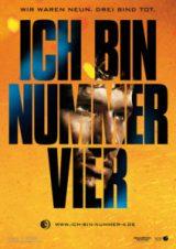 """Filmplakat """"Ich bin Nummer Vier"""""""