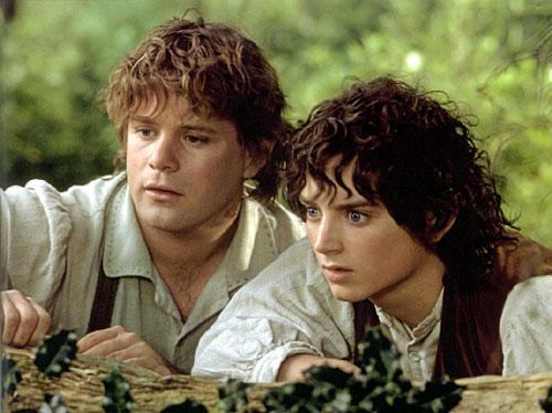 """Frodo und Sam aus """"Der Herr der Ringe"""""""
