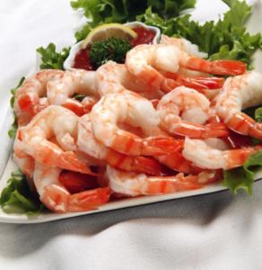 Shrimp - Protein packed - low in fat