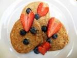 Almond Crust Pancakes