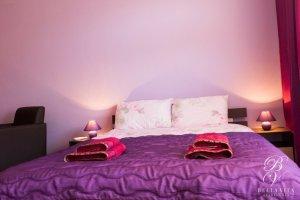 Обзаведен едностаен апартамент под наем Благоевград с една двойна спалня