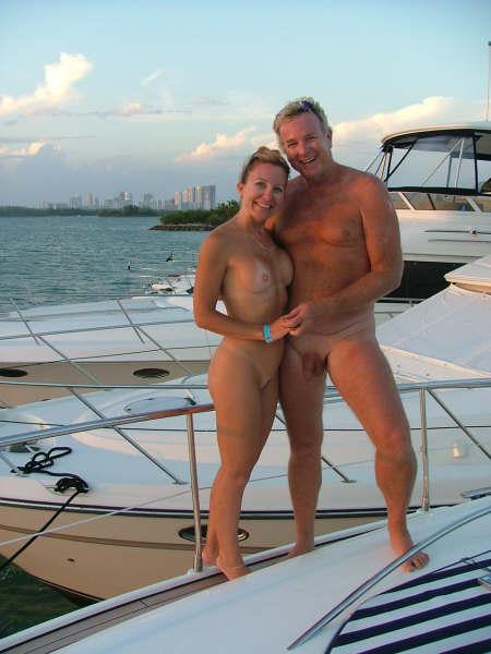 Pics of nudist boating