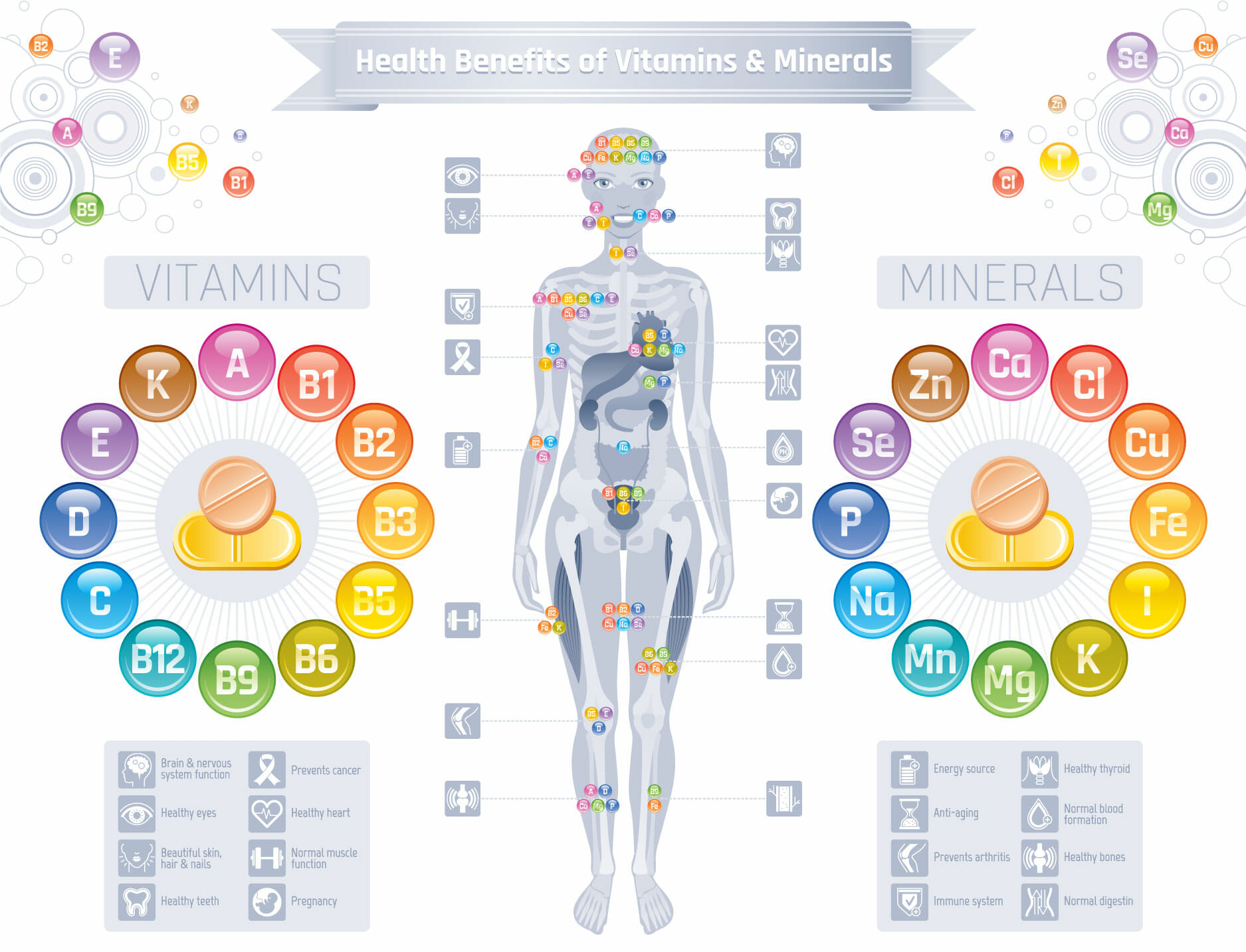 Do Vitamins And Supplements Slow Down The Ageing Process