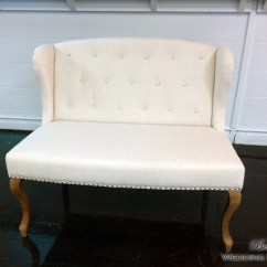 Chair Cover Rentals Dallas Texas How To Make Slip Covers For Folding Chairs Rental Bows Wedding Wingback White Fabric Love Seat