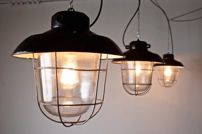 industrial deck lamp